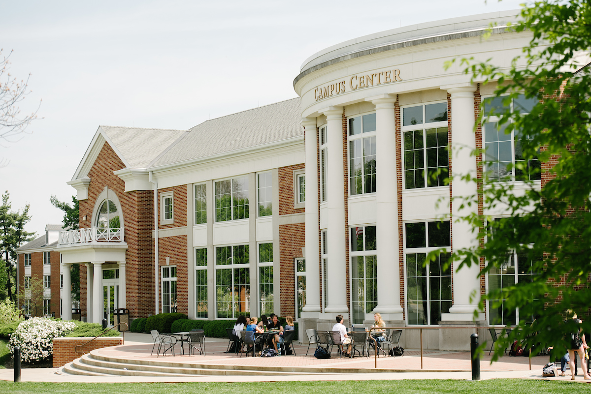 exterior of the Campus Center