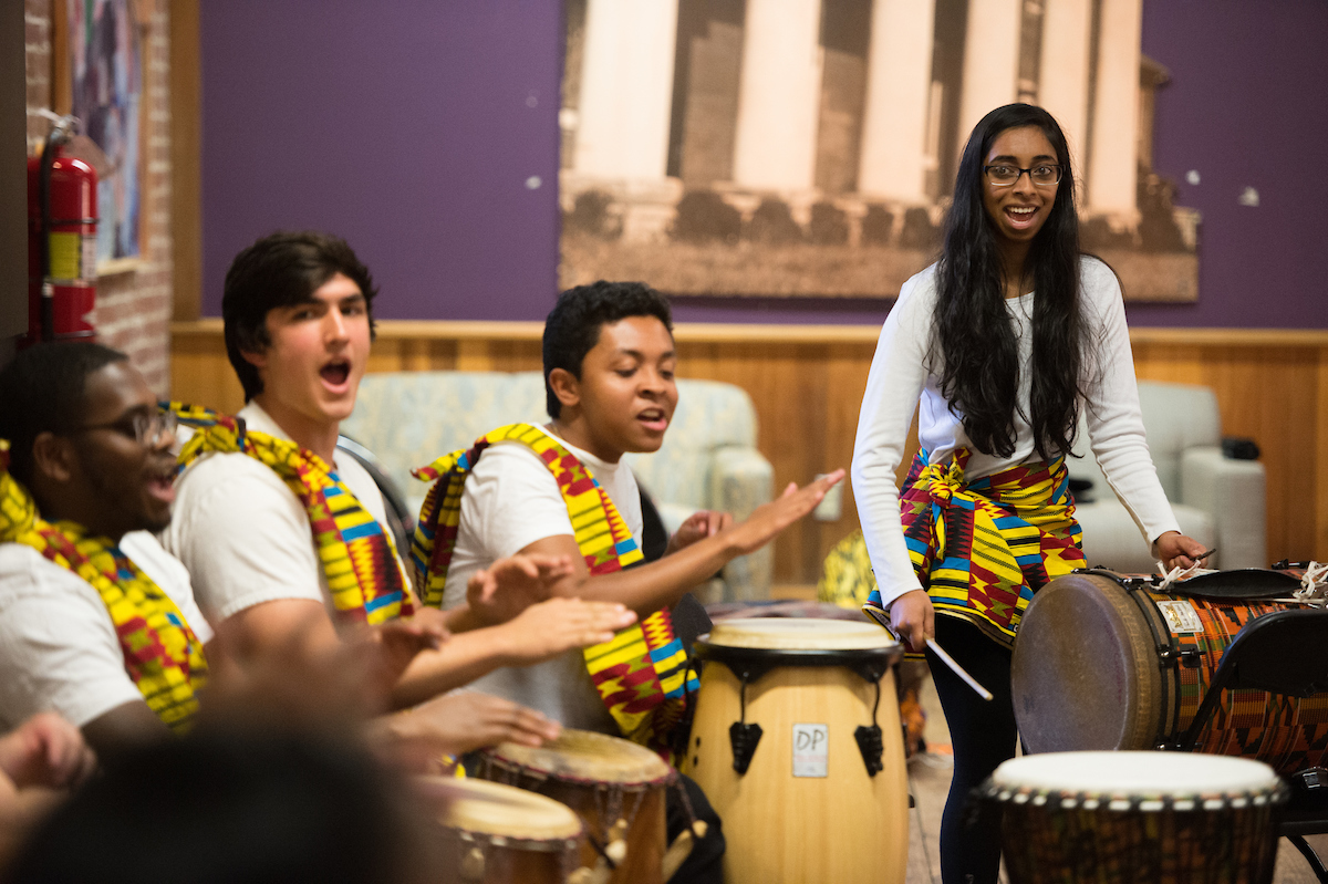 New music group joins African music ensemble for first concert