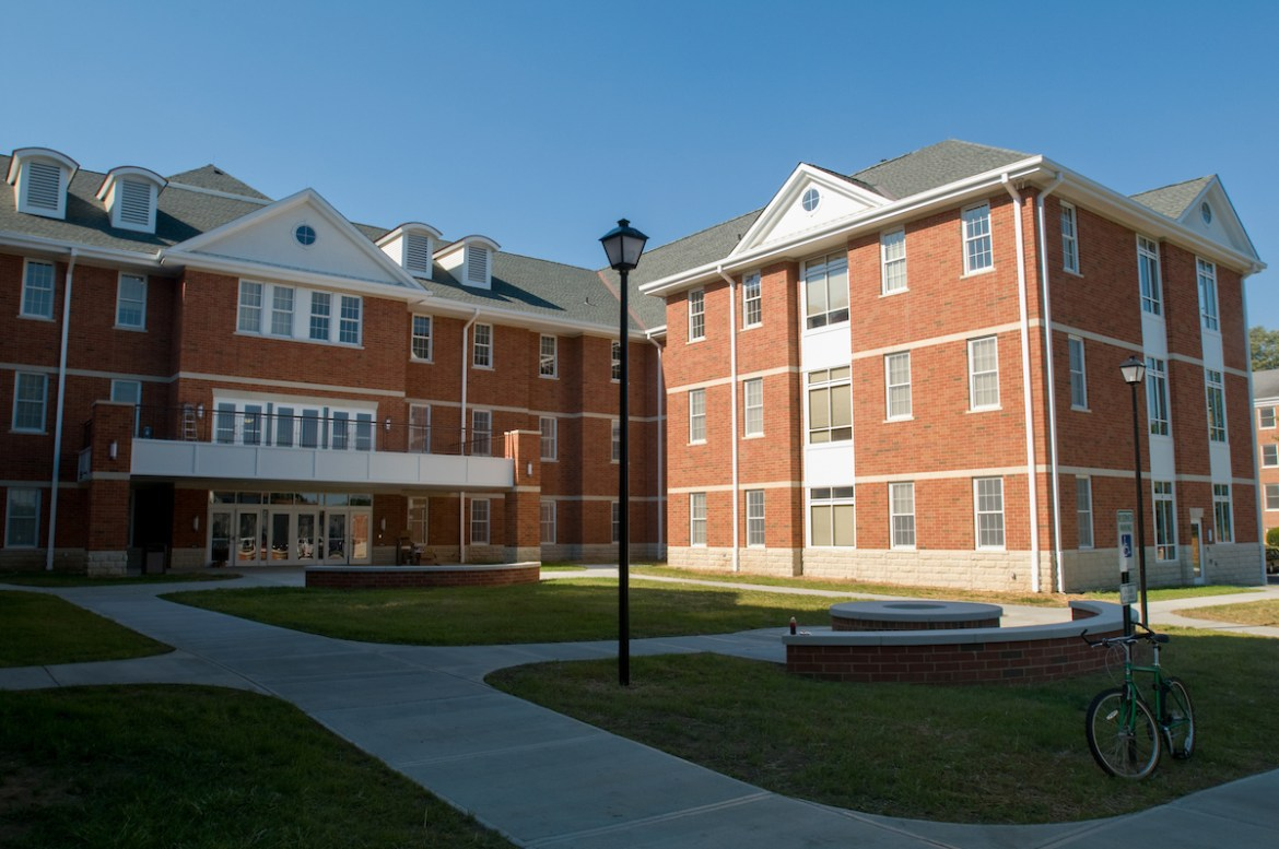 back of Pearl Hall