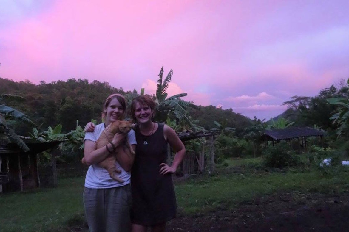 Margaux Crider '18 (Louisville, Kentucky) and Tyree Wilmoth '18 (Asheville, North Carolina) will present a documentary of life on a Lanna organic farm in Thailand