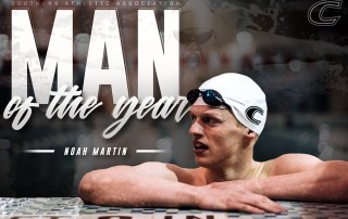 Noah Martin named SAA Man of the Year.