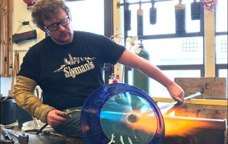 Jonathan Capps '05 glass studio