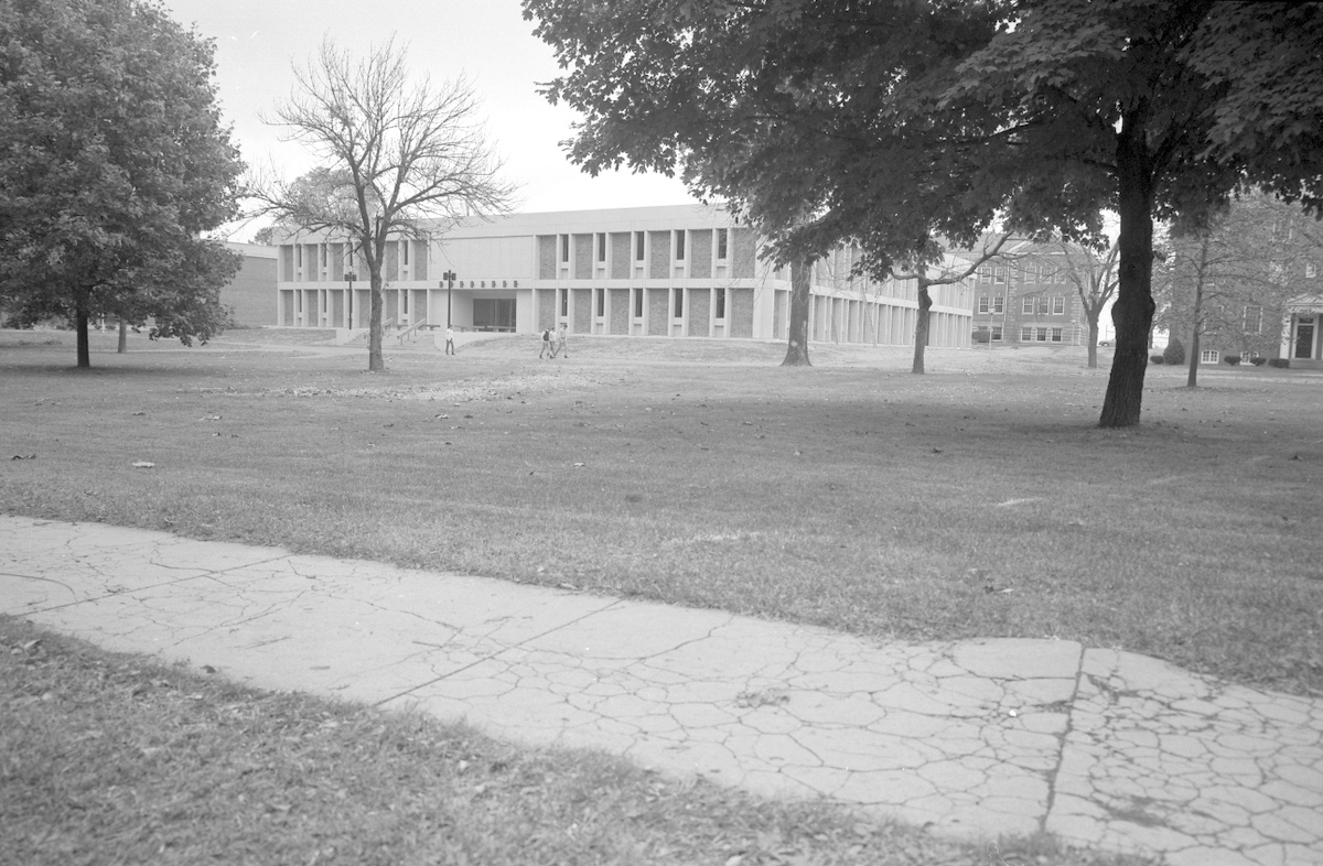 Historic Young Hall (1962) Back View