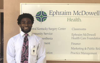 Cedric Burnam '19 internship