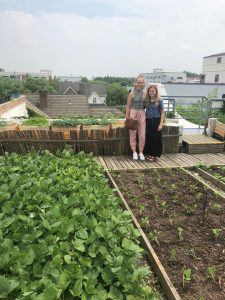 Davenport and Manning explore organic farms in Shanghai