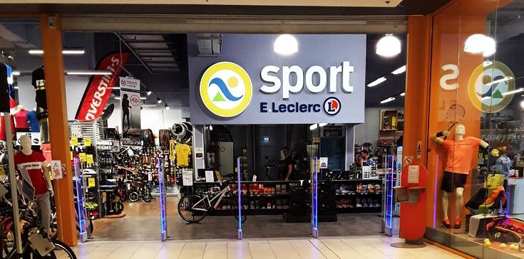 sport e leclerc centre commercial le