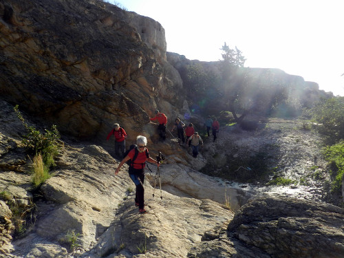 4 Les rutes del Centre Barranc Cocons Mines Ocre Bec Àguila Mutxamel
