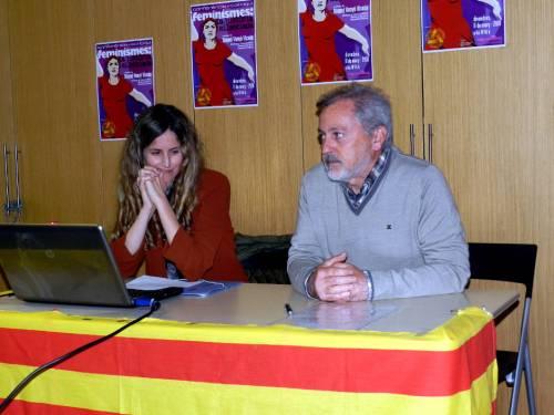 Conferencia Feminismes Centre Cultural Castellut 2