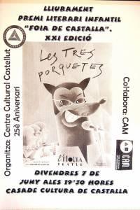 3 Teatre Premi Literari Infantil Castalla