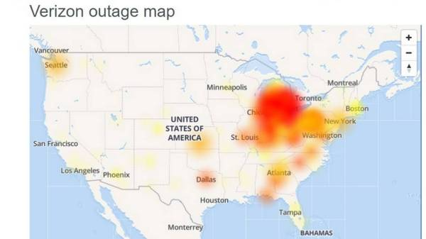 Did your call fail? Massive Verizon outage impacts parts of the country