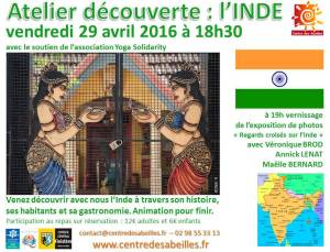Atelier decouverte Inde