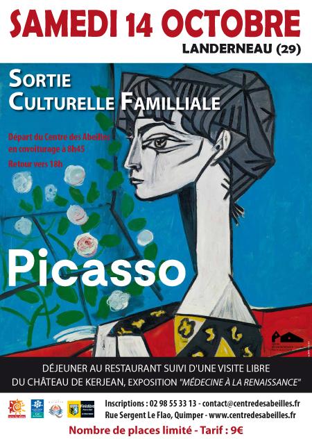 Exposition Picasso et visite du château de Kerjean