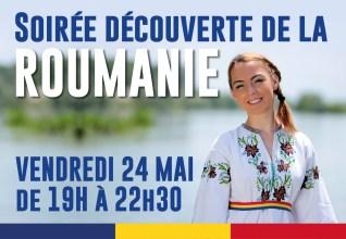 Soirée découverte de la Roumanie