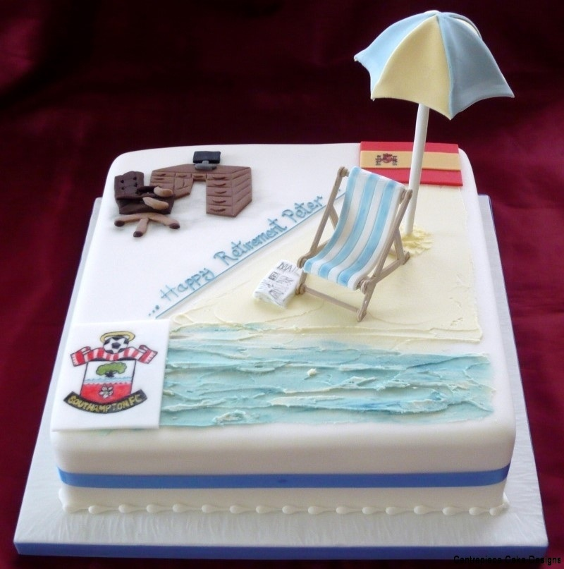 Retirement Cakes From 163 55 00 Centrepiece Cake Designs