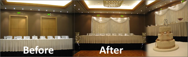 Awesome Wedding Head Table Backdrops Pictures Unique