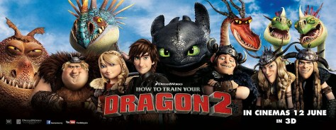 How To Train Your Dragon 2 banner