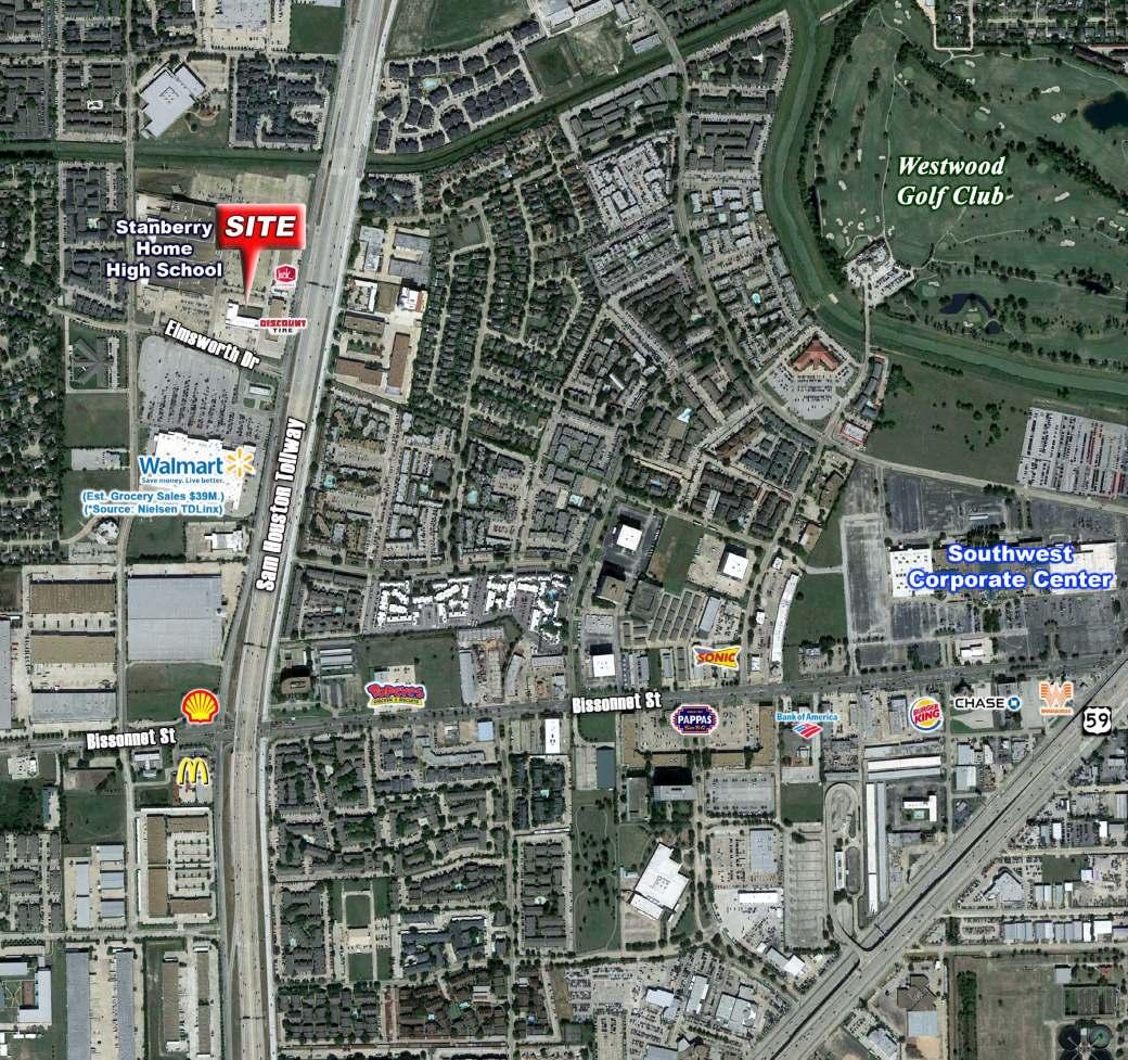 West Belt Center Flier - Location