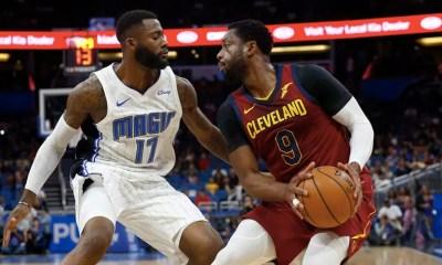 Dwyane Wade Cleveland Cavaliers Oct 22 2017