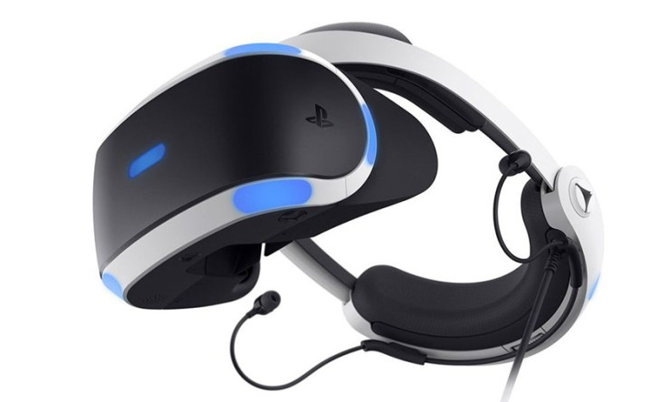 Sony New Updated PlayStation VR Headset 2017
