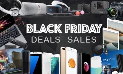 Early Black Friday 2017 Deals, 4K TV iPad Pro, HP Envy Laptops