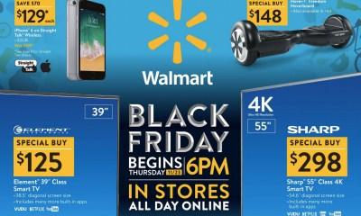 Walmart Black Friday 2017 Sales Ads Best Deals November 11th