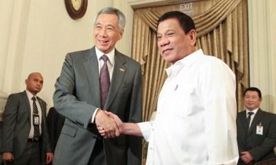 Duterte in Singapore