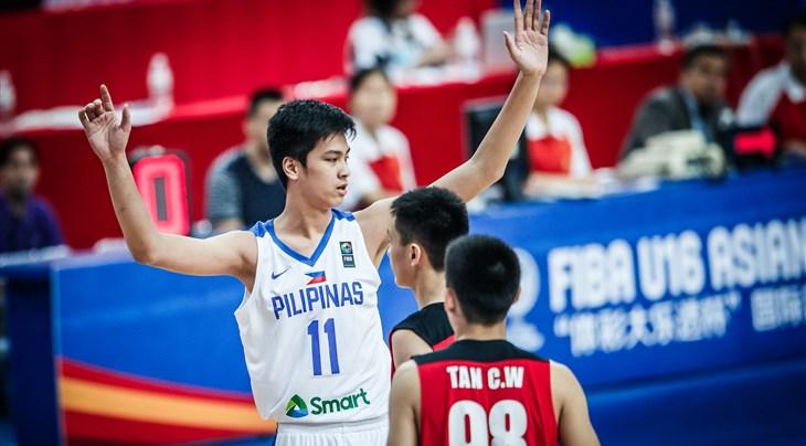Kai Sotto FIBA U16 2018