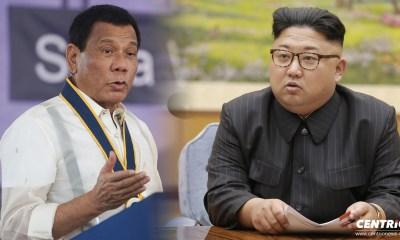 Philippine President Rodrigo Duterte hails North Korean leader Kim Jong Un 29APR2018