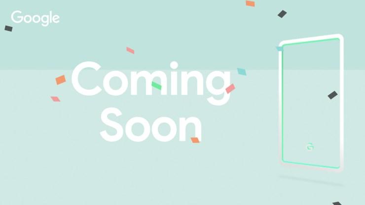 Google Pixe 3 Pixel 3 XL teaser Japan