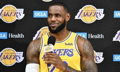 Lakers vs Nuggets Preseason 2018 NBA Lebron James