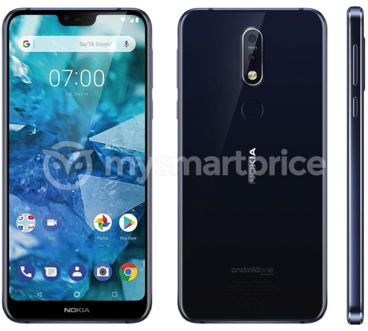 Nokia 7.1 Plus Leaks Confirms Dual Cameras, Carl Zeiss Optics, Notched Display 002