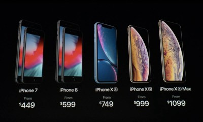 iPhone XS vs iPhone XS Max vs iPhone XR Comparison- Specs, Pre-orders, US UK AU Prices, Release Date 001