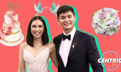 Sarah Geronimo and Matteo Guidicelli are married in a secret civil union in Shangri-La BGC