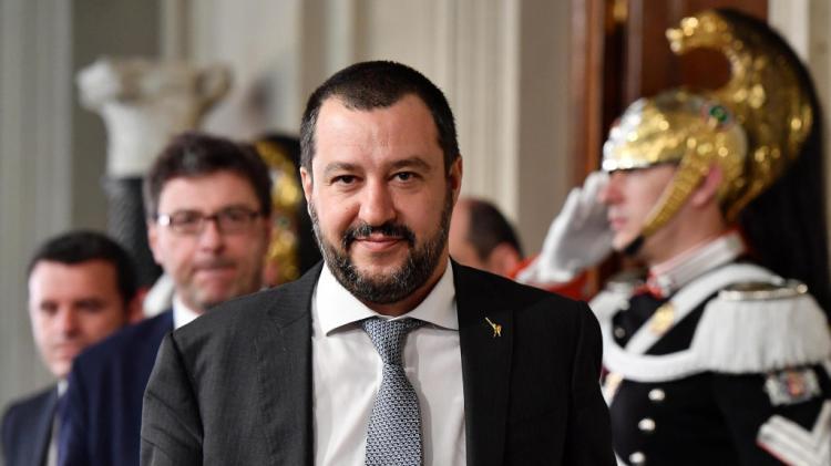 Governo Conte - Salvini all'Interno