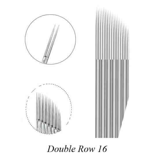double row 16 pins