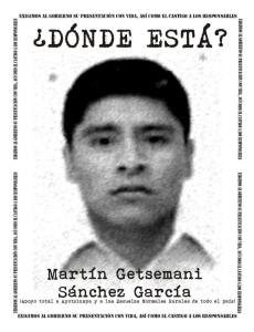 SANCHEZ GARCIA Martin Getsemani