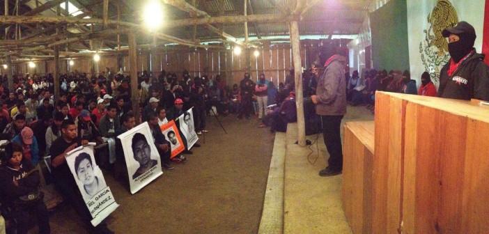 Ayotzinapa en Oventic 8 - Tlachinollan