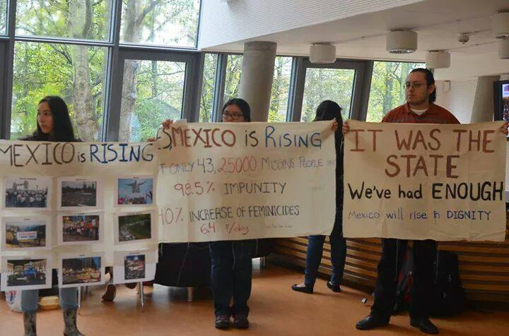 Ayotzinapa en York2