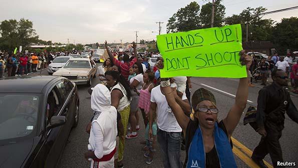 Ferguson - block highway