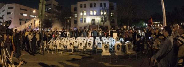 Ayotzinapa y Nuevo León ¡un sólo corazón!