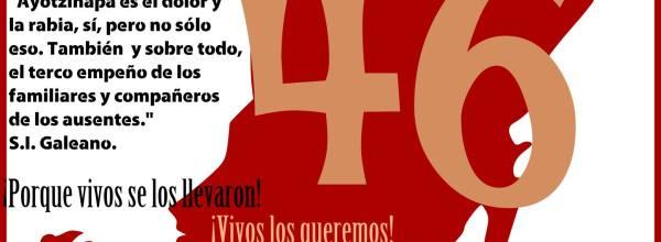 En vivo broadcast Caravana Ayotzinapa en Chetumal Quintana Roo.