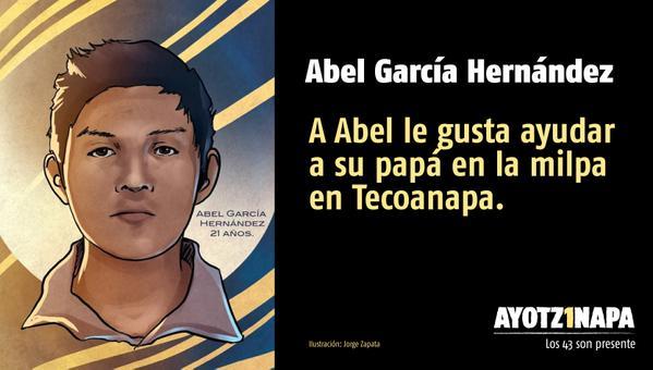 43 Abel Garcia Hernandez
