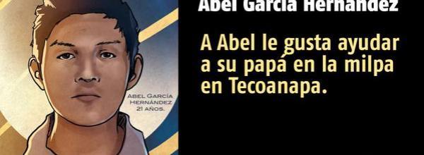 A 43 días #YoTeNombro Abel García Hernández #Ayotz1napa #43Ayotzinapa