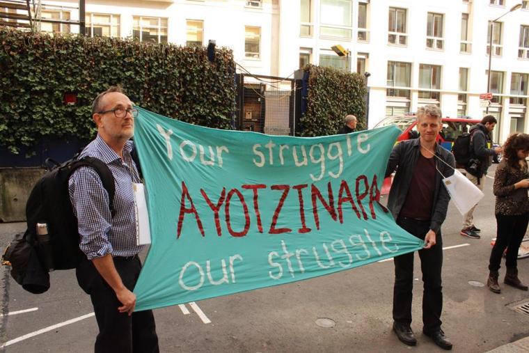 Londres con Ayotzinapa a 1 año 4