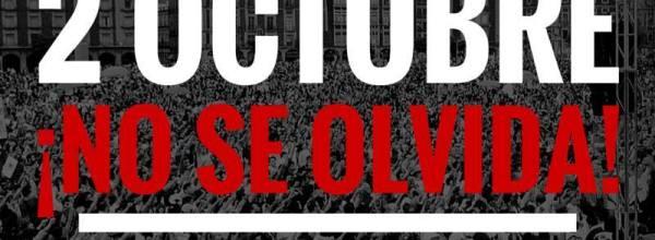 2 de octubre, de Tlatelolco a Ayotzinapa: Marcha de Tlatelolco al Zócalo