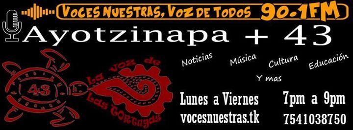 La Voz de las Tortugas - Radio Ayotzinapa