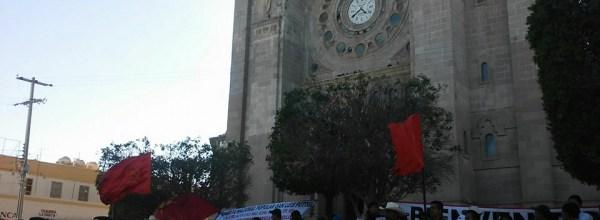 Avanza hacia Matamoros Marcha-Caravana de padres y madres de Ayotzinapa