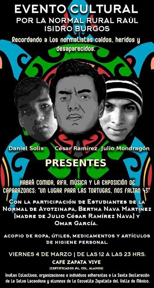 Acopio por Ayotzinapa