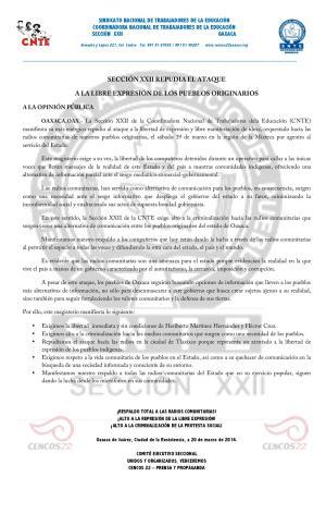 Boletín-Sección-XXII-repudia-el-ataque-a-la-libertad-de-expresión-20-de-marzo-de-2016-page-001