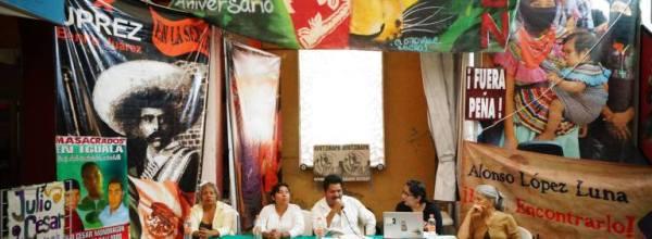 19 de abril: Audio de la conferencia de prensa de los padres y madres de los 43 normalistas desaparecidos de Ayotzinapa